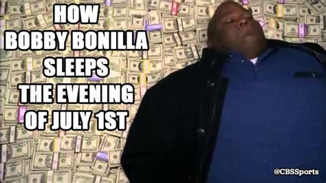 Justin Verlander Meme - happy bobby bonilla mets pay day cbssports com