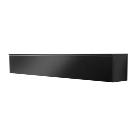 Besta Wall Shelf best 197 burs wall shelf high gloss black