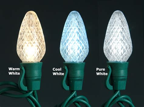 what is the difference between c7 and c9 light bulbs