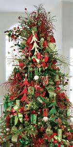 christmas tree red green glitter fiestas pinterest