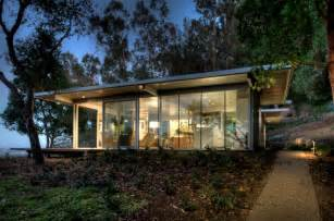 modular glass guest house modern exterior san francisco by canyon construction