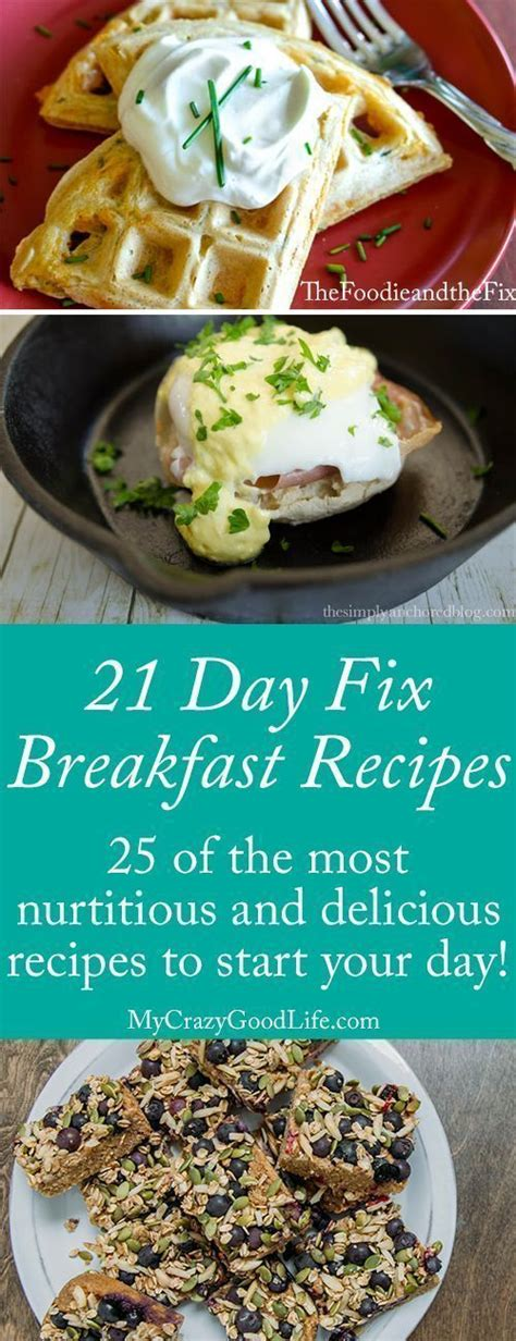 8 Fix Breakfasts For by 21 Day Fix Breakfast Recipes Giving Up Stay On Track