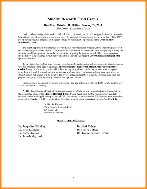 Sle Letter Support Grant Application Letter For Grant Scholarship 28 Images Sle Application Letter For Scholarship