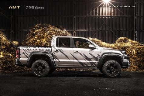 volkswagen amarok custom a modified exterior and custom interior make the perfect