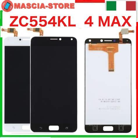 Lcd Zenfone 4 Max Pro touch screen vetro lcd display assemblato asus zenfone 4