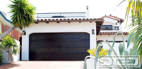 Garage Doors Santa Barbara Santa Barbara Style Garage Door With Dummy Iron Hinges Ring Pulls Mediterranean Exterior