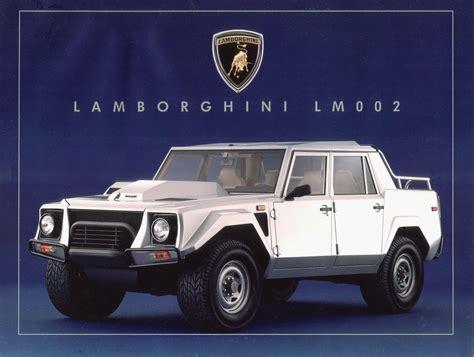 Lamborghini Lmoo2 Lamborghini Lm002 A Blockbusting Raging Machine