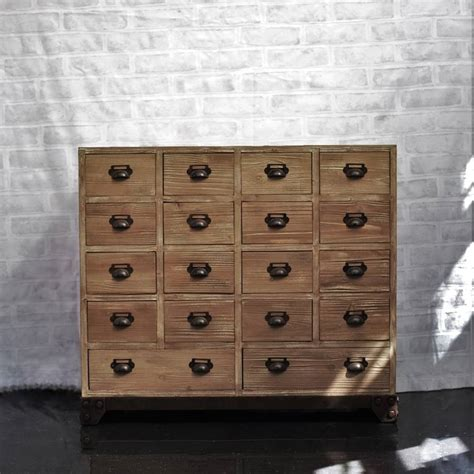 apothecary cabinet 18 drawer apothecary cabinet by cambrewood