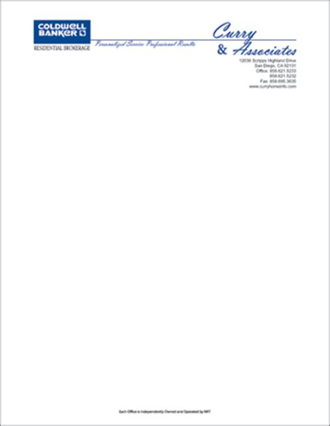 new business letterhead the place color printing of business cards