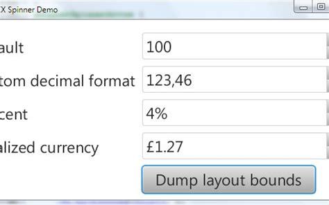 javafx text field layout javafx numbertextfield and spinner control dzone java