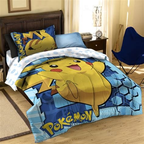 pokemon comforter set fun pokemon bedding for kids