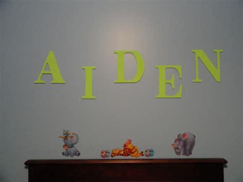 easy diy bedroom wall letters diy pinterest