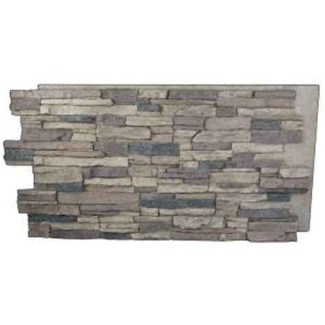 superior building supplies rustic lodge 24 in x 48 in x