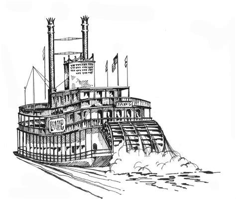 how to draw a boat paddle river boat louisiana sea grant college program louisiana