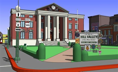 hill valley design 1955 city hill valley 3ds