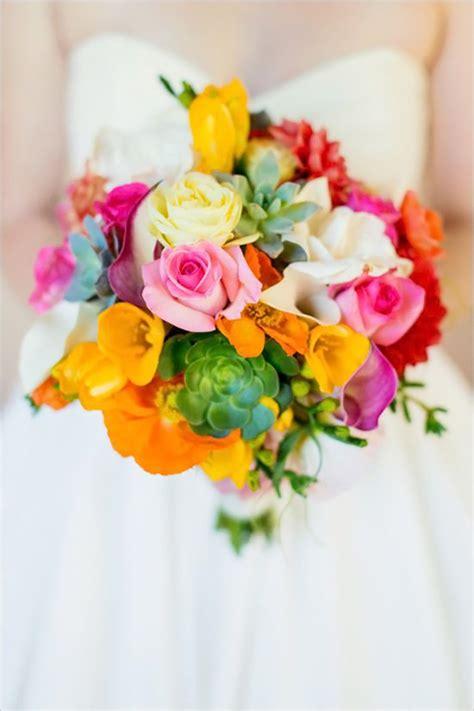 fiori colorati bouquet colorato il bouquet da sposa perfetto per un