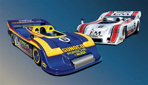 porsche 917 can am can am porsche 917 10 917 30 team penske print