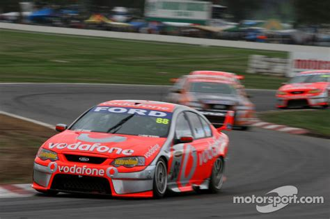 Jamie Whincup (TeamVodafone Ford Falcon BF) at Winton
