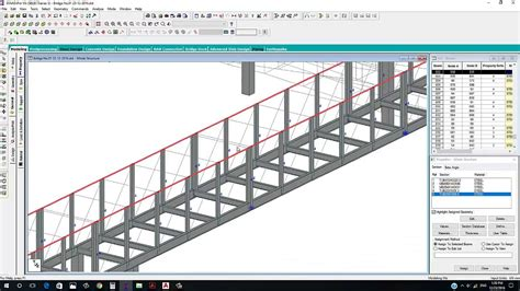 bridge pattern youtube pedestrian steel bridge design by staad pro part no 01