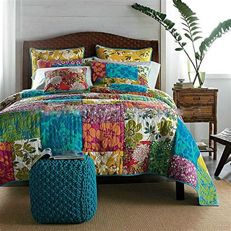 Patchwork Quilt Comforter - comforters and bedspreads home decorator shop