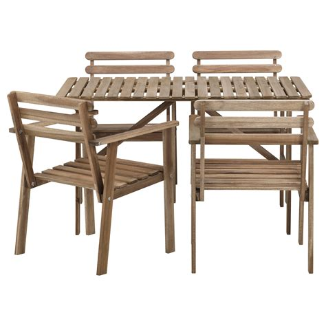 wooden table and chairs ikea beautiful outdoor bistro set ikea homesfeed