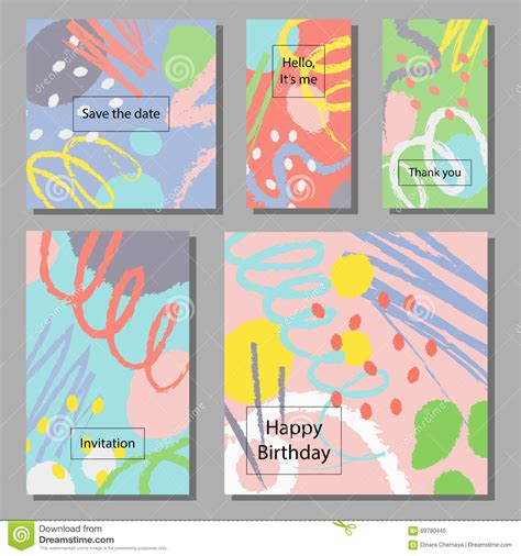 Wedding Anniversary Holidays by Vector Illustration Set Of Artistic Colorful Universal