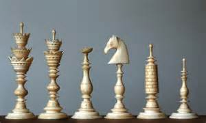 chess set anonymous chess collector