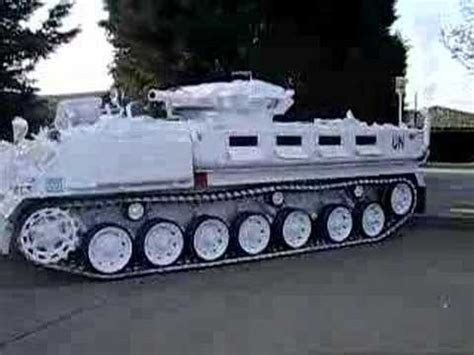 limousine vehicle tank limo the worlds only stretched tracked vehicle