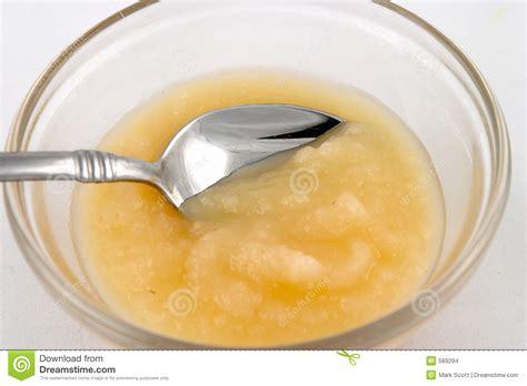 fruty u applesauce applesauce stock photo image of silver applesauce glass