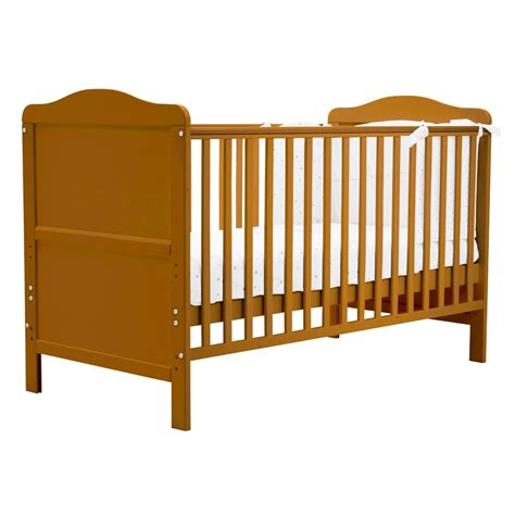 Crib Converts To Bed Winchester Cot Bed Nursery Baby Crib Converts Into Junior Size Bed Antique Ebay