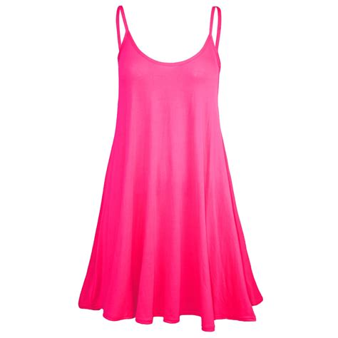 swing skater dress womens sleeveless camisole swing dress floaty flare