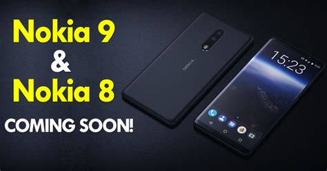 Top New Gadgets by Nokia 9 Amp Nokia 8 Get Leaked In Images Showcase Thin