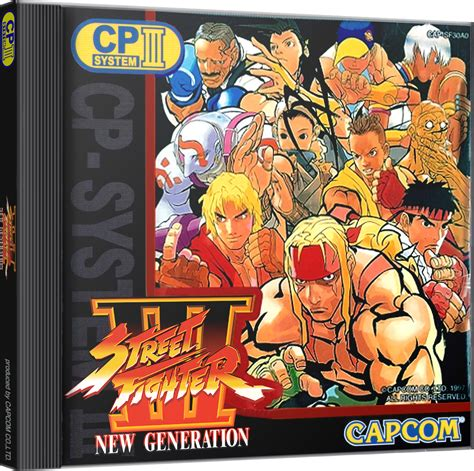 street fighter iii  generation details launchbox