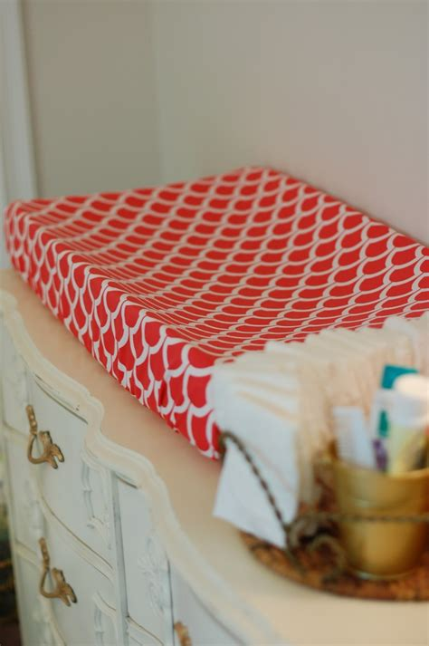 Crib Changing Pad by Diy Changing Pad Cover A Small Snippet