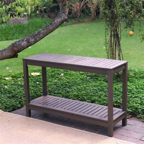 outdoor console table 1000 ideas about outdoor console table on