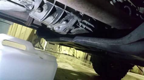 Jeep Wrangler Transmission Fluid Change 02 Tj Wrangler Manual Transmission Fluid Change