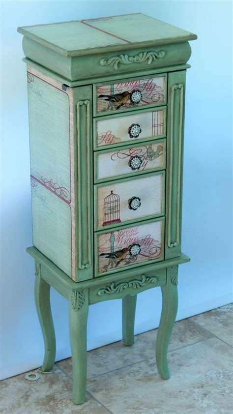 custom jewelry armoire repurposed jewelry armoire custom made to order