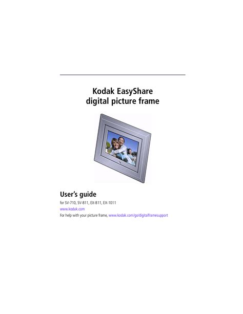 Kodak Digital Photo Frame Sv710