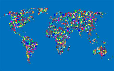 world map background image clipart colorful circles world map with background 3