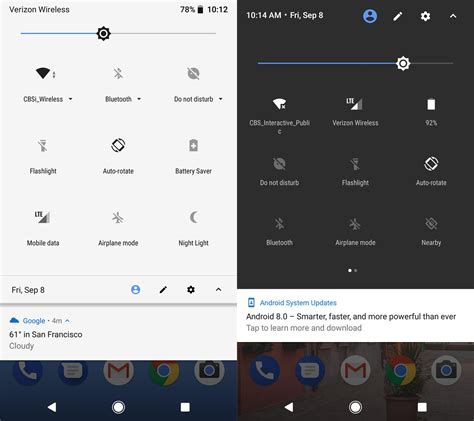 Android Oreo What S New by What S New About Android Oreo Pocket Projectors