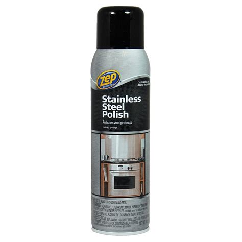 polish stainless steel zep 14 oz stainless steel polish zusstl14 the home