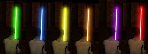 new saber colors image jedi forces 2 duels