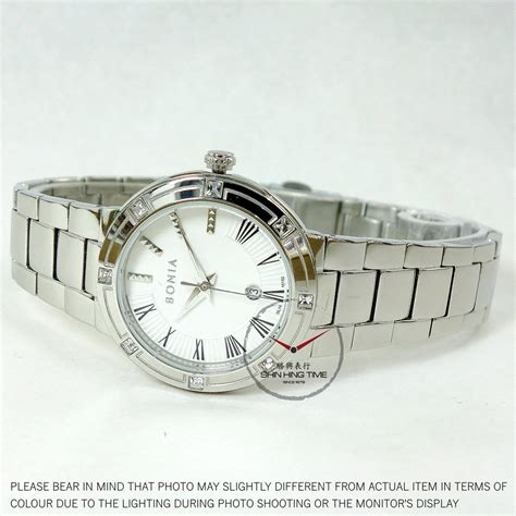 Bonia Bn10134 2313s Silver Withe bonia timepiece bnb10152 2313s s with silver
