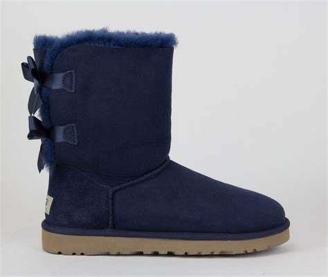 new ugg boots for s shoes ugg australia bailey bow boots 1002954 navy