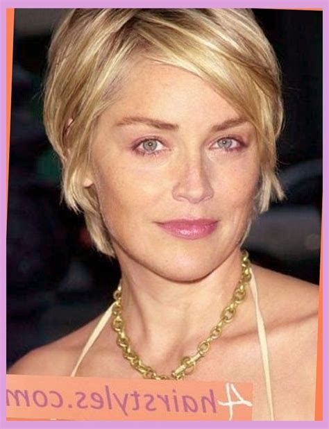 how to style sharon stones short hair style sharon stone hairstyles short hair hair