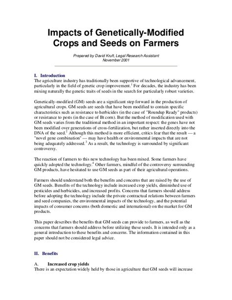 research paper on plants research paper on genetic modified plants
