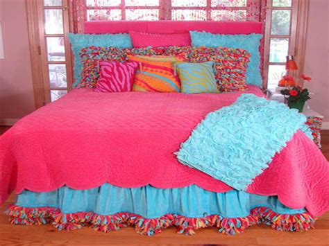 colorful bed sheets colorful girls bedding myideasbedroom com
