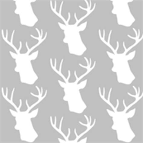 stag wallpaper grey stag fabric wallpaper gift wrap spoonflower