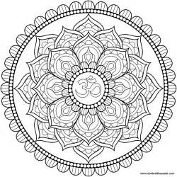 coloring mandalas mandala only coloring pages