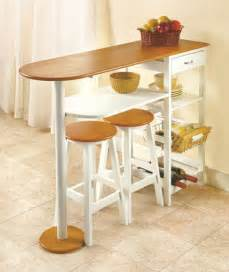 Small Breakfast Bar Table Breakfast Bar Table Island W Stools Desk Craft Table W Drawer Wine Rack Basket Craft Tables